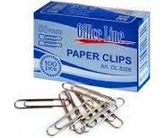 Скрепки OfficeLine 50 мм, 100шт., никелерованные