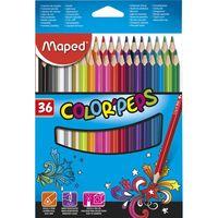 MAPED Карандаши цветные MAPED Star, 36 цветов