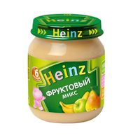 Heinz пюре фруктовый микс 6+мес. 120г