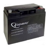 Gembird, Battery 12V 17AH