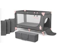 Кроватка-манеж KinderKraft Joy розовый