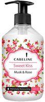 26.52 Careline Крем-гель для душа Sweet Kiss Rose Musk (500 мл.) 992348