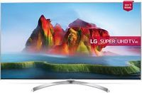 """49"""" LED TV LG 49SJ810V, Silver (3840x2160 UHD, SMART TV, PMI 2800Hz, DVB-T2/C/S2) (49"""", Silver, Super UHD, 3840x2160, PMI 2800Hz, SMART TV (WebOS 3.5), 4 HDMI, 3 USB (foto, audio, video), Wi-Fi 802.11ac, DVB-T2/C/S2, OSD Language: ENG, RU, RO, Magic Remote control, Speakers 2x10W Harman/Kardon® certificate, 14.1 Kg, VESA 300x300 )"""