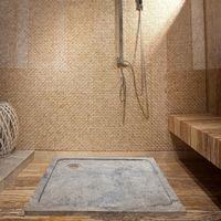 Травертиновая ванна Silver ST-012 SBSS, 90 х 90 х 3 см