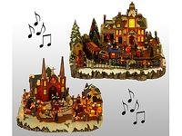 купить Сувенир рождественский музыкальный Замок в Кишинёве