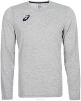 ASICS MEN'S LONG SLEEVE TEE GRAY