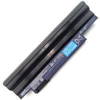 Battery Acer Aspire One D255 D257 D260 D270 522 722 E100 C700 HAPPY2 Gateway LT23 LT25 eMachines 355 AL10A31 AL10B31 AL10G31 11.1V 4400mAh Black
