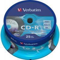 Диски VERBATIM CD-R 25 AZO