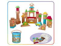 Деревянные детские кубики