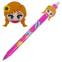 Автоматическая шариковая ручка Colorino стираемая синяя 0,5 мм Frozen