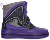 Kids' AllCast Waterproof Duck Boot (juniors') Ultraviolet / Black