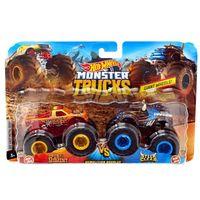 Машинка Monster Trucks 1:64 Demolition Doubles Hot Wheels, код FYJ64