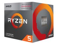 APU AMD Ryzen 5 3400G (3.7-4.2GHz, 4C/8T,L2 2MB,L3 4MB,12nm, Vega 11 Graphics, 65W), Socket AM4, Box