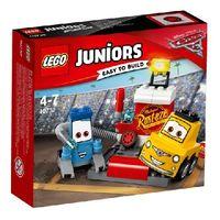 Lego Juniors Пит-стоп Гвидо и Луиджи