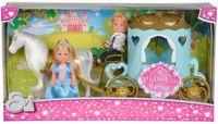 Simba Еви и Тимми Карета принцессы с конем