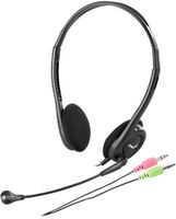 Genius HS-200C Headphones with  microphone, Black