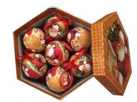 "купить Набор шаров ""Old Style"" 14X80mm, оранж (в подар коробке) в Кишинёве"