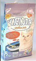 Чистюля Оптима Наполнитель для кошачьего туалета - 5 кг