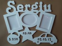 Фоторамка из гипса (Sergiu)