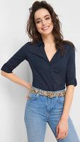 Блуза ORSAY Темно синий 660059