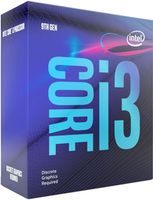 CPU Intel Core i3-9100F 3.6-4.2GHz (4C/4T, 6MB, S1151,14nm, No Integrated Graphics, 65W) Tray