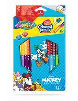 Карандаши цветные двусторонние - Colorino Disney Mickey Mouse
