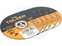 Диск отрезной по металу 125x1.2x22mm Tolsen