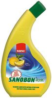 cumpără Sano Sanobon Lemon Lichid dpentru curățarea toaletă (750 ml) 287492 în Chișinău