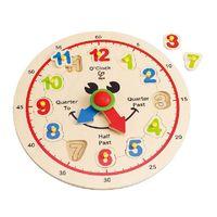 Hape Деревянная игрушка Счастливые часы