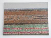 В поле, 60x80 см., холст, масло