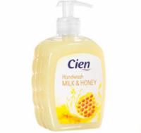 Жидкое мыло Cien Milck & Honey (Молоко и мед) 500 мл