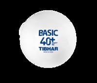 купить Мяч для настольного тенниса Tibhar Basic 40+ SYNNT NG (863) в Кишинёве