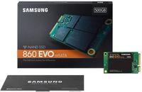 mSATA SSD 500Gb Samsung EVO MZ-M6E500BW