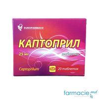 Captopril 25mg comp. N10x2 (Eurofarmaco)