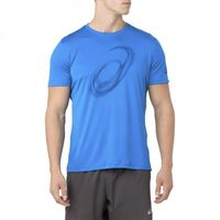 ASICS Men's Silver SS Top Graphic