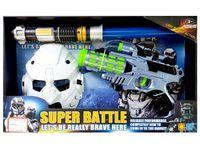 """купить Набор космический пистолет, шлем и меч """"Super Battle"""" свето- в Кишинёве"""