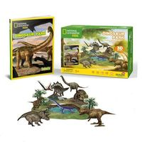 CubicFun пазл 3D Dinosaur Park