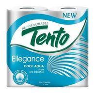 Hârtie igienică TENTO 3 str. 18m*4 Cool Aqua