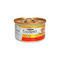 Gourmet Gold pateu cu vita  85 gr