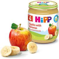 Piure de mere și banane Hipp (4+ luni), 125g
