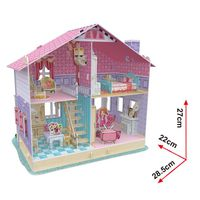 3D PUZZLE Dream Dollhouse -Carrie's Home