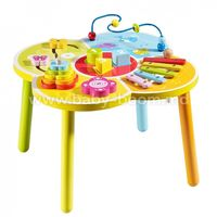 Baby Mix HJ-D93995 Деревянный развивающий столик