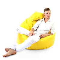Because - Galben XXL – Clasic Bean Bag
