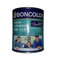 эмаль ПФ-115 Boncolor белая 0,8 кг