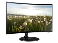 """32"""" SAMSUNG """"V32F390FE"""", G.Black (Curved-VA 1920x1080, 4ms, 250cd, LED Mega-DCR, HDMI+D-Sub, TV,USB) (31.5"""" Curved-VA W-LED, 1920x1080 Full-HD, 0.311mm, 4ms (GtG), 250 cd/m², Mega ∞ DCR (3000:1), 16.7M, 178°/178° @CR>10, D-Sub + HDMI x2, TV-Tuner RF In, USB ConnectShare, Component In (Y/Pb/Pr), Composite In (AV), CI Slot,  Audio-In, Headphone-Out, Speakers 5W x2, DTS Premium Sound 5.1,  External Power Adapter, Fixed Stand (Tilt -1/+22°), Wall Mount 75x75,  Magicbright, Magicupscale, Eco saving plus, Eye saver mode, Flicker free, Game mode,  Glossy-Black )"""