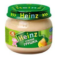 Heinz пюре cпелая грушка 4+мес. 80г