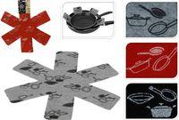 купить Защита для антипригарной посуды 3шт, D38cm, текстиль в Кишинёве