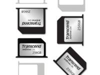 "Transcend JetDrive Lite 330 256GB storage expansion cards for the MacBook Pro (Retina) 13"""