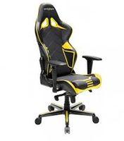 Игровое кресло DXRacer Racing GC-R131-NY, черный / желтый,