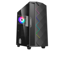 Корпус ATX Gamemax Black Diamond